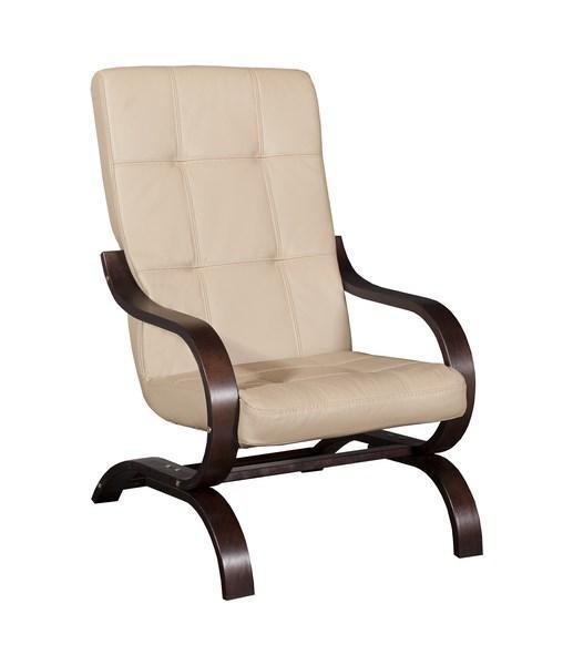 Стильное кожаное кресло ERYK (80 см)