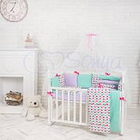 Комплект Baby Design Цветные Сердечки