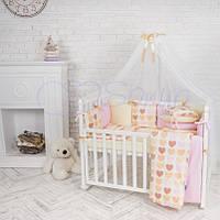 Комплект Baby Design Ванильные Сердечки