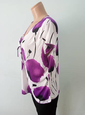 Блузка женская батальная NATALI, фото 2