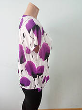 Блузка женская батальная NATALI, фото 3