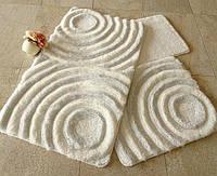 Набор ковриков для ванной комнаты и туалета