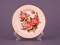 Набор из 6 десертных тарелок 16 см Lefard Корейская роза 215-135