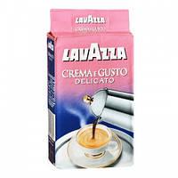 Кофе молотый lavazza crema e gusto delicato 250 гр