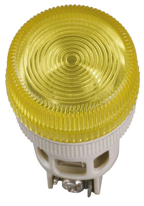 Лампа ENR-22 сигнальная d22мм синий неон/240В цилиндр ИЭК