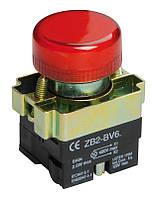 Индикатор LAY5-BU64 красного цвета d22мм ИЭК, фото 1