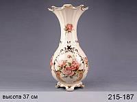 Фарфоровая ваза Lefard Корейская роза 215-187