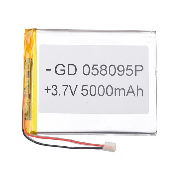 Универсальный аккумулятор для планшетов 3.7V 95х80х5 5000mAh