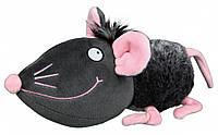 Игрушка Trixie Mouse для собак плюшевая, с пищалкой, 33 см