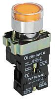 Кнопка управления LAY5-BW3361 с подсветкой зеленый 1з ИЭК, фото 1