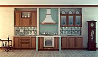 Распродажа! Кухня ЖУРАВЛИНА (RODA): из натуральной черешни для домов и квартир в классическом стиле