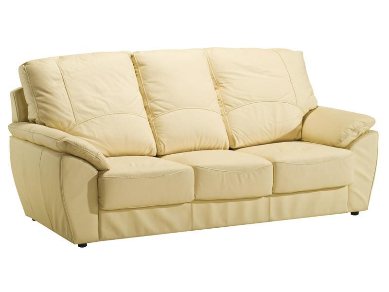 Прямой кожаный диван DALLAS (212 см)