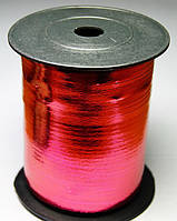 Лента Красная металлизированная  5 мм, 250 м