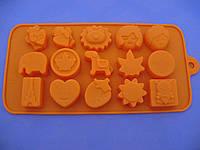 Форма силикон для конфет Любовь в Париже
