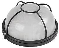 Светильник НПП1304 черный/круг солнце 60Вт IP54 ИЭК