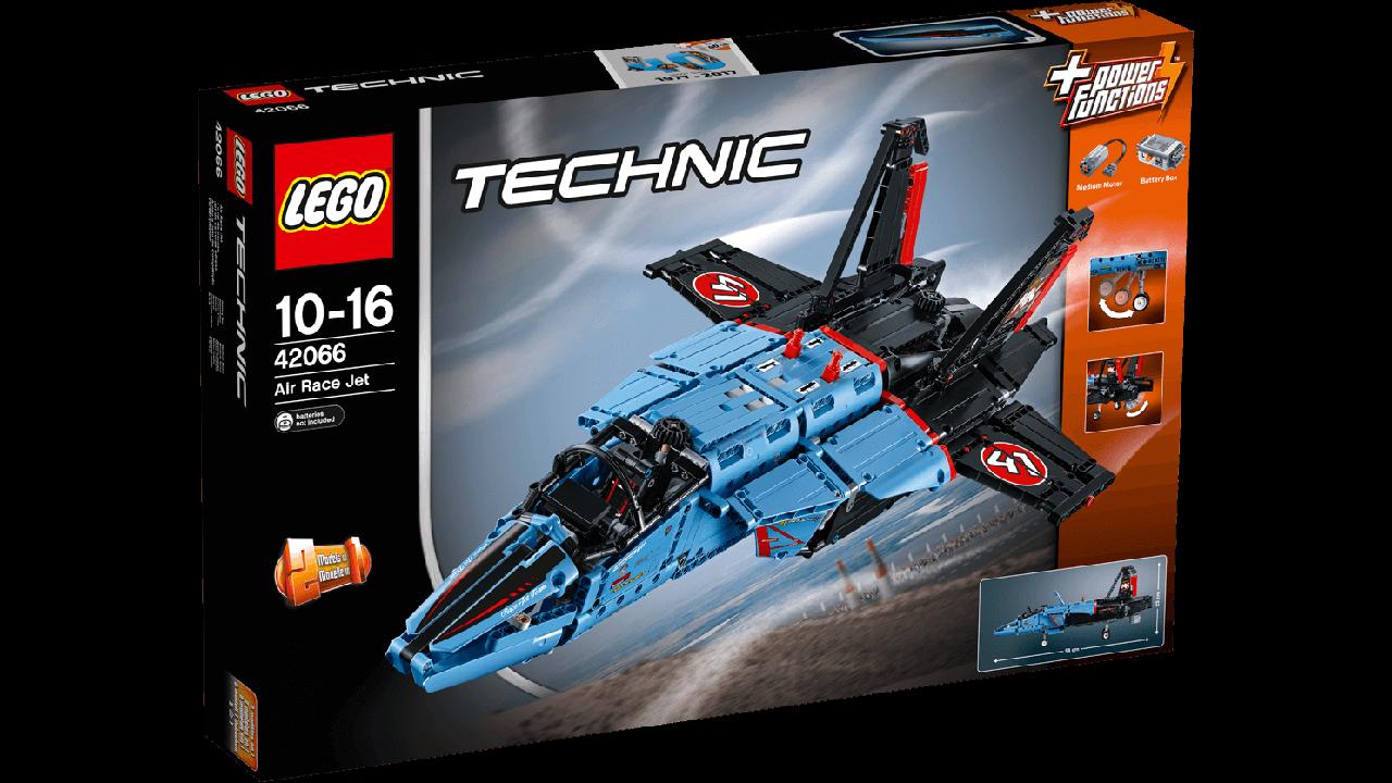 LEGO Technic 42066 Air Race Jet Сверхзвуковой истребитель (Конструктор LEGO Technic  Надзвуковий винищувач)