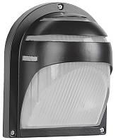 Светильник НПП2501 черный/ресничка 60Вт IP54 ИЭК