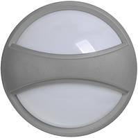 Светильник ДПО 1303 серый круг с пояском LED 6x1Вт IP54