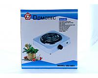 Электроплита Domotec MS 5801, плитка электрическая настольная
