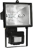 Прожектор ИО500Д(детектор) галоген.черный IP54 ИЭК
