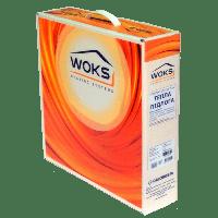 Кабельный теплый пол WOKS 10-1550