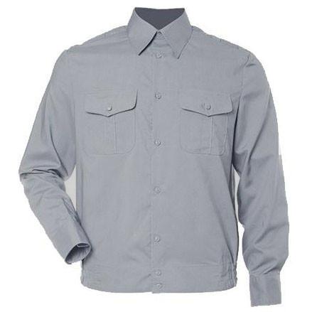 Форменная Рубашка для Полиции длинный рукав (серая)