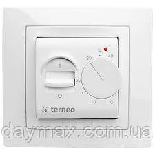 Terneo mex (слоновая кость) механическйи термостат(термореле)для теплого пола