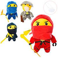 Мягкая игрушка Ninja 1331 на присоске, 4 вида: размер 20см