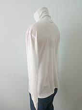 Гольф мужской коттоновый  брендовый белый реплика NIKE, фото 3