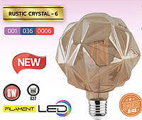Лампа Эдисона FILAMENT LED Кристалл 6W/2200K/E27