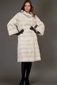 Mink fur coats and jackets. A huge sale in Ukraine. A lof of fur coats every week