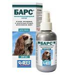 """Спрей """"Барс"""" для собак 100 мл (фипронил 0,3%) противопаразитарный препарат от блох и клещей"""
