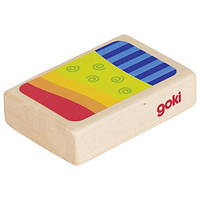 Деревянный музыкальный инструмент goki Шейкер 61940g