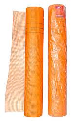 Сетка штукатурная Rubin 50 м, ячейка 5 х 5 мм, 160 гр м² оранжевая