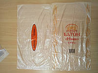 Пакет п/э 22х40 под батон, хлеб.