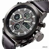 Водонепроницаемые армейские часы AMST AM3003 black