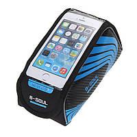 Велосумка на раму B-Soul велосипедная сумка для смартфона 5.5