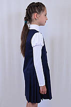 Нарядный красивый школьный сарафан с вышивкой р.122-146, фото 3