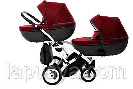 Дитяча універсальна коляска для двійні Jumper4 Duo Slim
