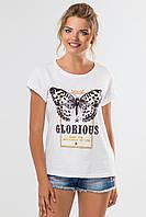 Белая футболка Glorious