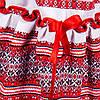 Костюмчик тройка - вышиванка для девочки от 2 до 10 лет, фото 5
