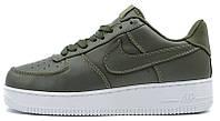 "Мужские кроссовки Nike Lab Air Force 1 Low Urban ""Haze/White"" (Найк Аир Форс низкие) хаки"