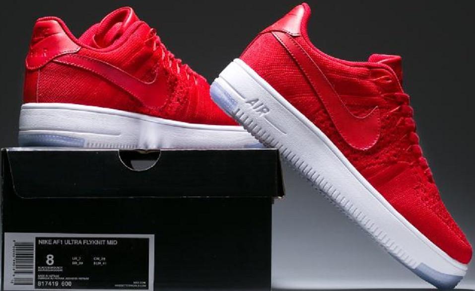 847eea40 ... Купить мужские кроссовки Nike Air Force 1 Ultra Flyknit Low Red  University в tehnolyuks.prom ...