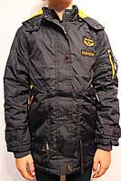 Куртки-парки подростковые на осень от 4 до 12 лет (116-146см.). Фирма-GRACE. Венгрия.