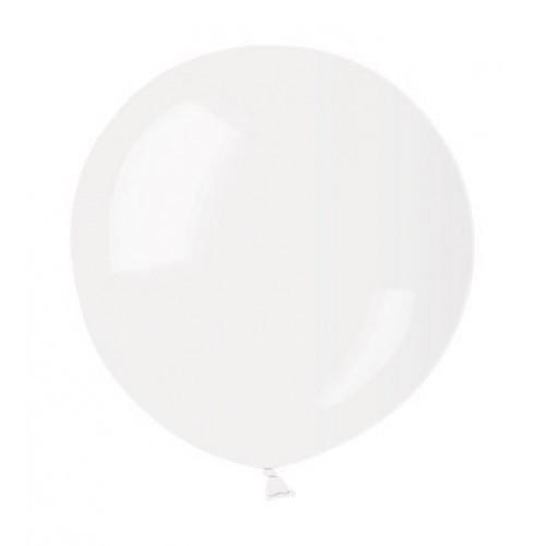 Воздушный шар без рисунка 48 см прозрачный