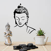 Наклейка на стену Будда