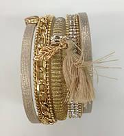 Женский браслет намотка