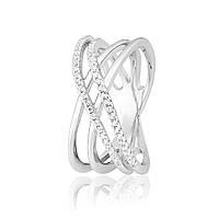 """Серебряное кольцо с камнями """"422"""""""