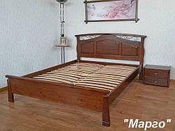 """Кровать """"Марго"""" (200*160), массив дерева - ольха, покрытие № 11."""