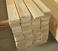 Доска деревянная обрезная сосна калиброванная 30х100х4, 4,5, 6 м